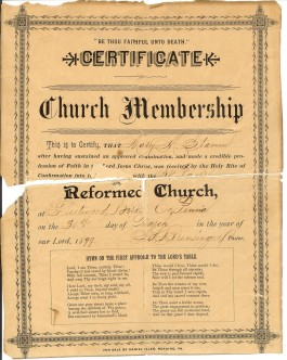 Document-1899-Church-Membership1_265_332_90